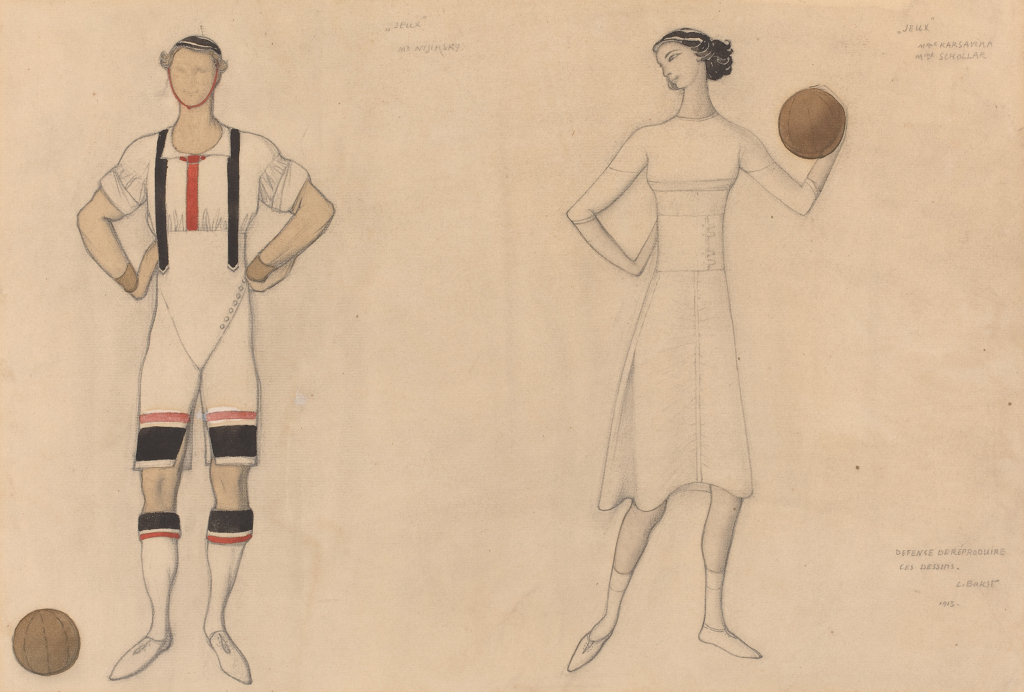 Costumes of The Ballets Russes