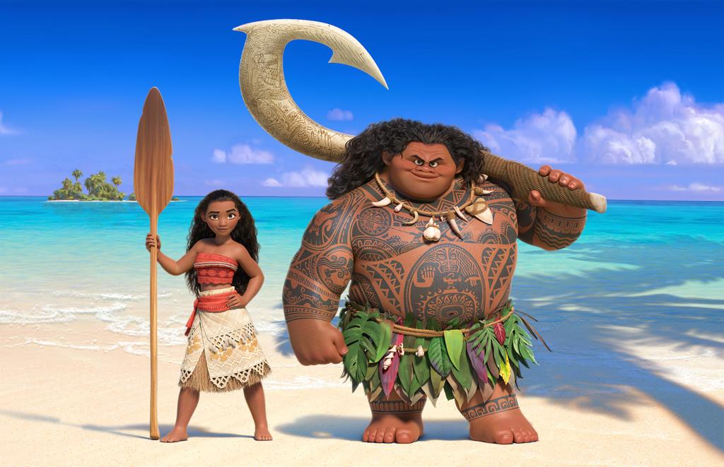 The Costume Design of Disney's Moana